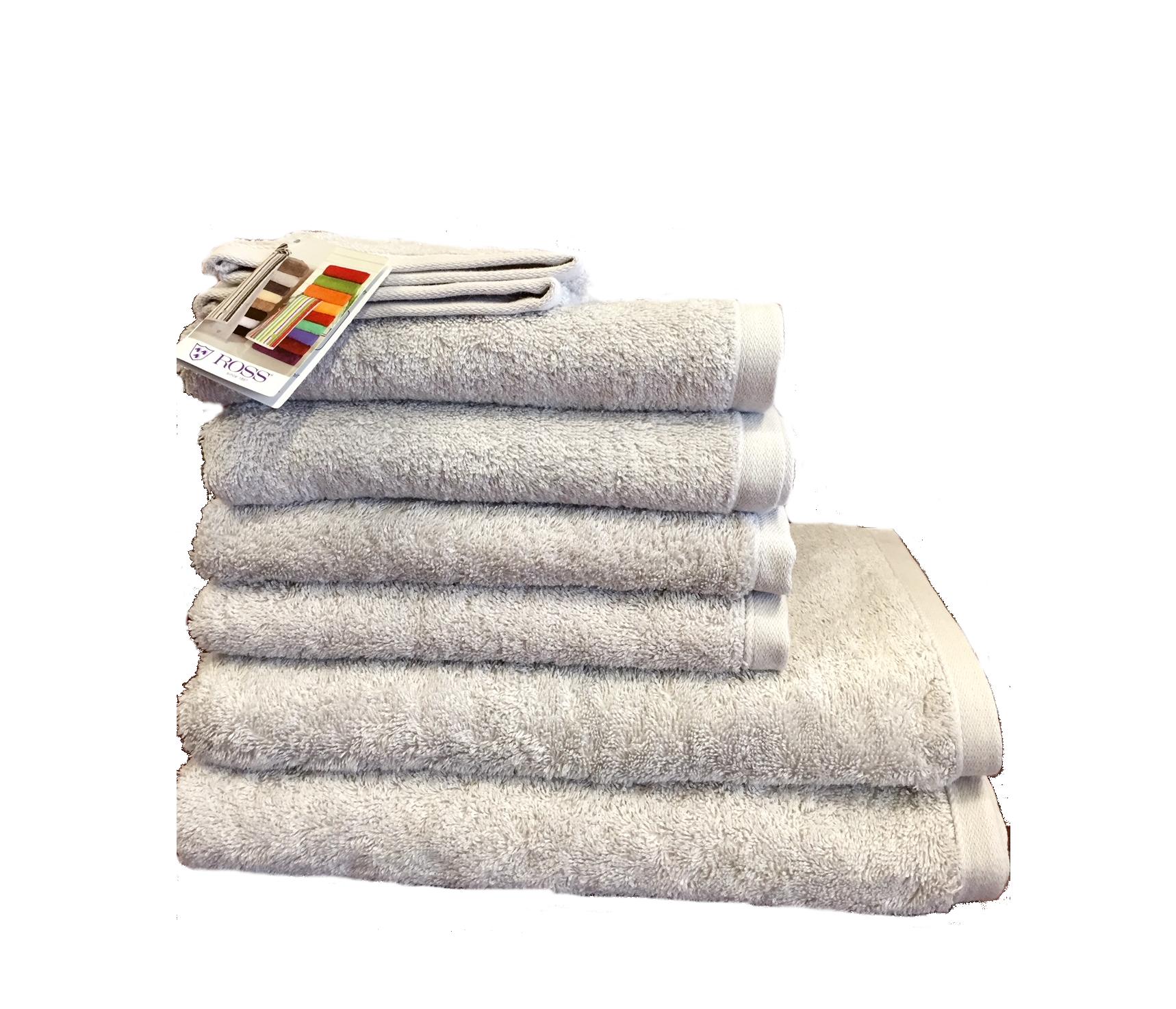 Angebot Ross Handtuchset 4004-00 Weiß 2x Duschtuch 4x Handtuch Gratis 2x Waschhandschuh