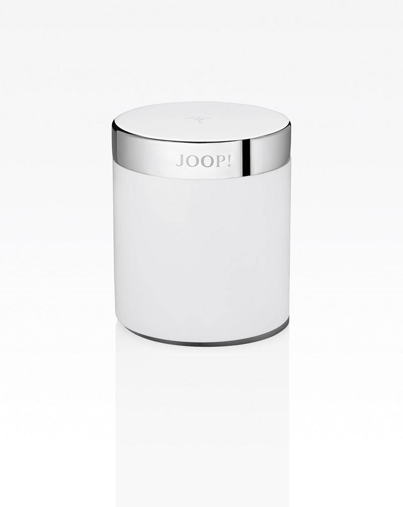JOOP! Chromeline Mehrzweckdose Chrom Weiß  Klein 10301000 mit Deckel
