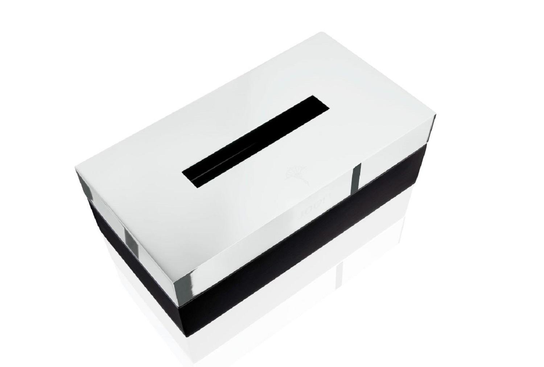 JOOP! Chromeline Black Kosmetiktuch Kleenexbox 010070011 schwarz lackiert