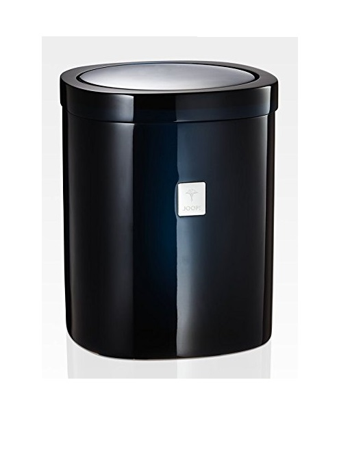 JOOP! Crystal Line Badeimer Blau 011541420 mit Edelstahl Schwingdeckel