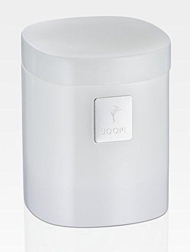 JOOP! Crystal Line Mehrzweckdose Weiß 011501410 mit Deckel und Logo