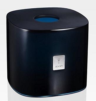 JOOP! Crystal Line Papiertuchbox Dunkelblau 011531420 silberfarbenes Logo