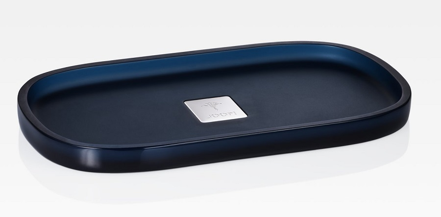 JOOP! Crystal Line Tablett S rechteckig Dunkelblau 011481420