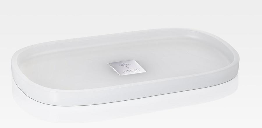 JOOP! Crystal Line Tablett S rechteckig Weiß 011481410