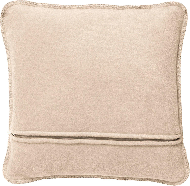 joop uni doubleface kissen weiche fleece qualit t 50x50 cm pergament sand 65108 ebay. Black Bedroom Furniture Sets. Home Design Ideas