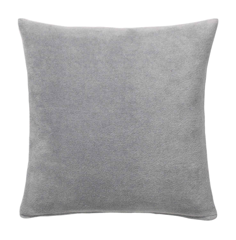 joop kissen uni doubleface fleece mit f llung 50x50 rauch graphit 687579 neu ebay. Black Bedroom Furniture Sets. Home Design Ideas