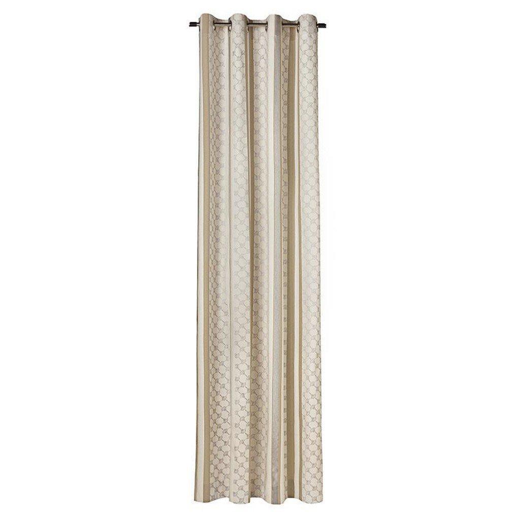 JOOP! Fertig-Vorhang Silk Allover verdeckte Schlaufen 130x250 70523-030 Beige