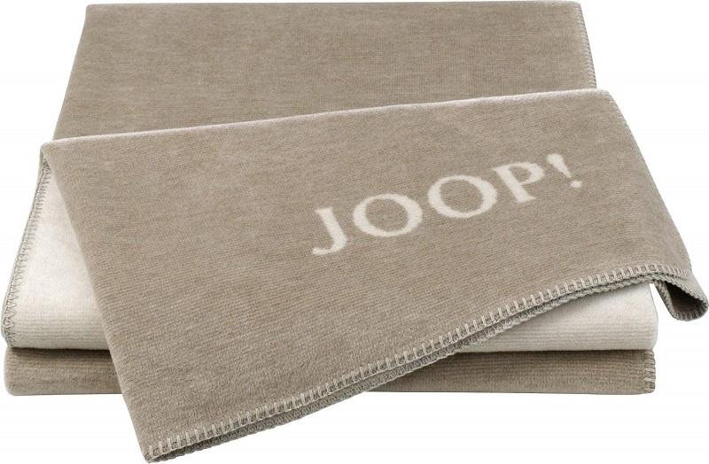 JOOP! Melange Doubleface Wohn- Kuscheldecke 150x200 Sand-Natur 716330