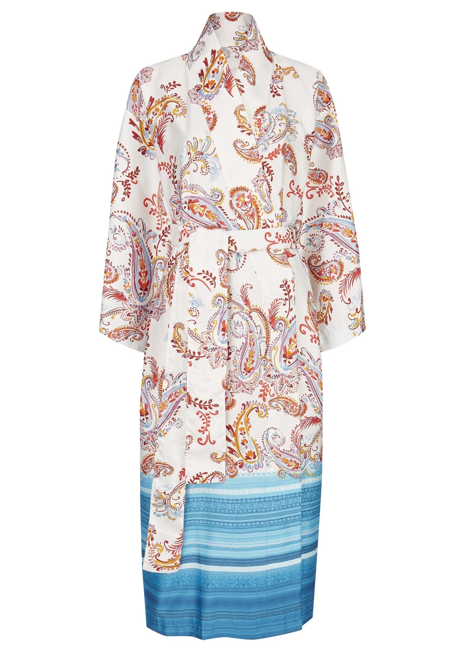 bassetti Kimono Tosca B1 Blau 9311850 Größe S-M Gr. 36-42 neue Kollektion