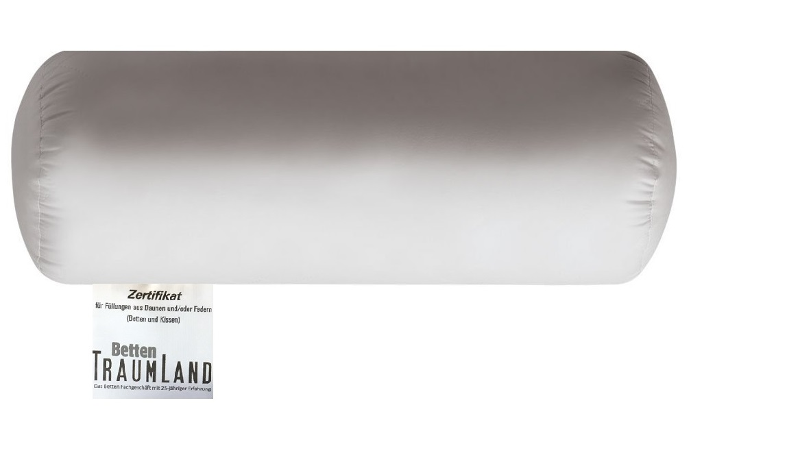 Canada Nackenrolle 100 % canadische Land Daune 100% Baumwollbezug 40x15 cm