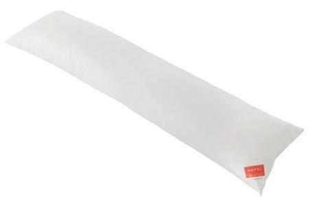 HEFEL Seitenschläferkissen ZIRBE 35x160 cm 100% Wolle + Zirbe NEU!