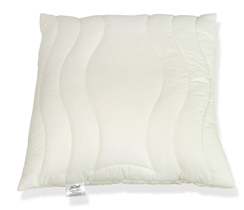 Kissenbezug Zwischenbezug Dreams Wash 80x80 cm 100% Baumwolle mit Reißverschluss