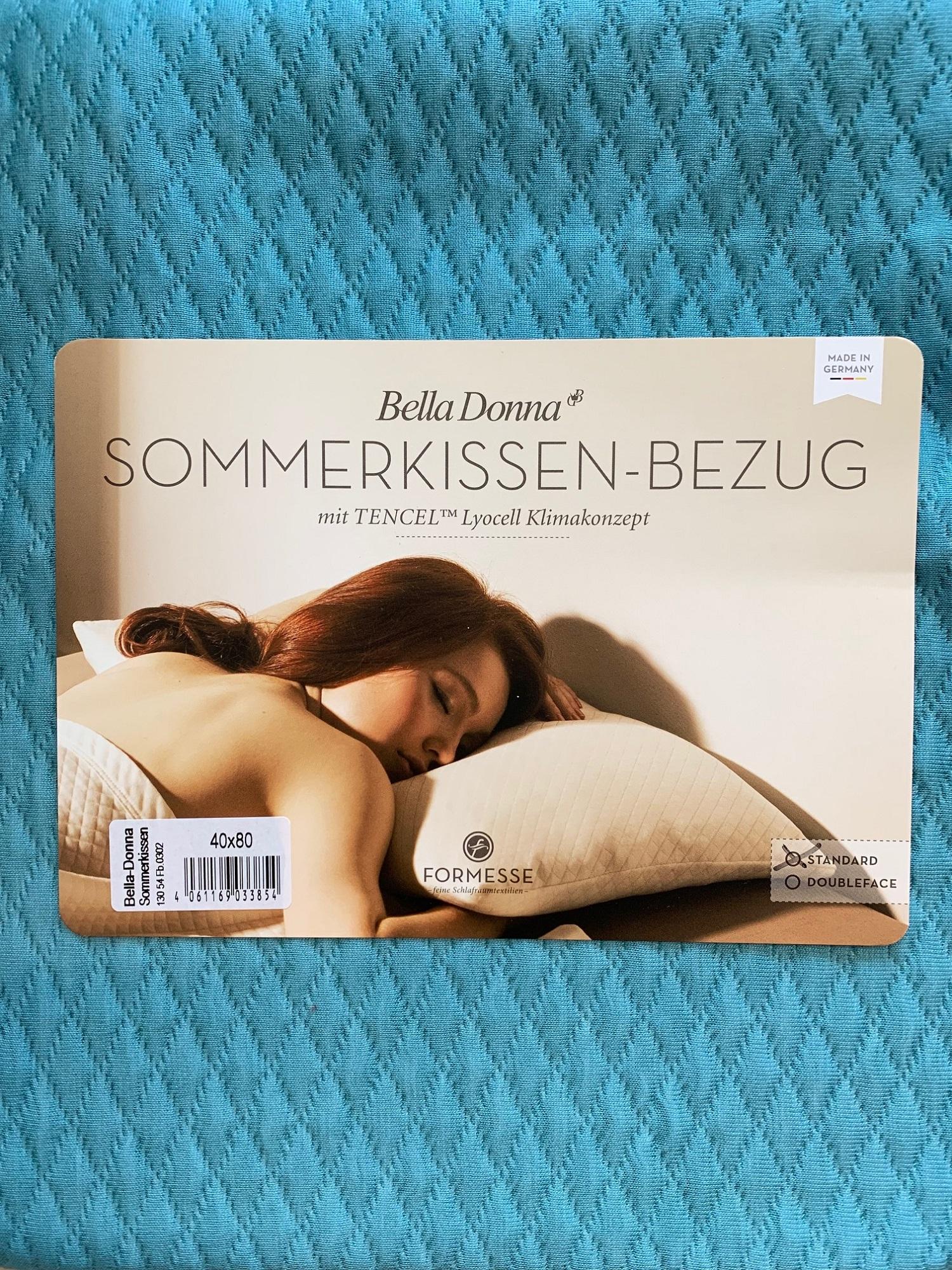 Bella Donna Sommerkissen Bezug Doubleface 40x80 0302 Arktis