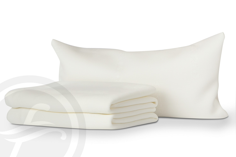 Formesse Satinesse Air 3D Kissenschonbezug 40x80 cm Wärmeausgleich atmungsaktiv
