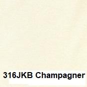 Hefel KissenBezug Seitenschläferkissen Jersey Champagner langer Reißverschluss