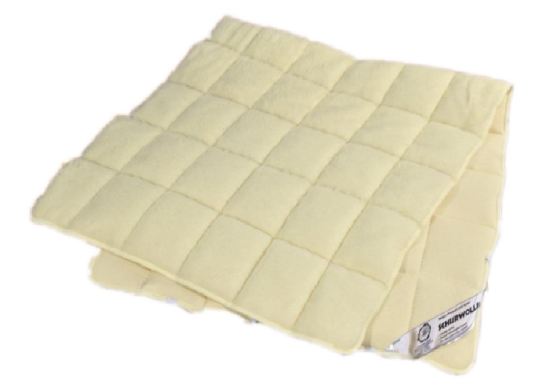Merino Schafschurwolle Auflage wohlig warm für naturgesunden Schlaf 100% Wolle