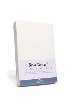 Bella Donna Jersey Spannbetttuch 1B Ware 90/190 x 100/220 cm Weiß 1000