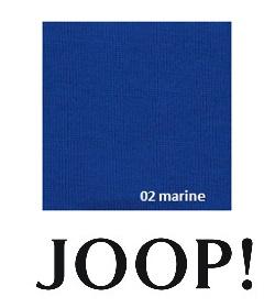 JOOP! Spannbetttuch Feinjersey 180/200x200/220 cm 02 Marine