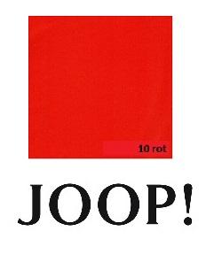 JOOP! Spannbetttuch Feinjersey 180/200x200/220 cm Rot 10