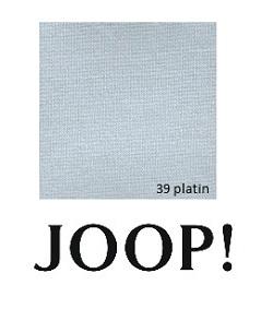 JOOP! Spannbetttuch Feinjersey 180/200x200/220 cm Platin 39