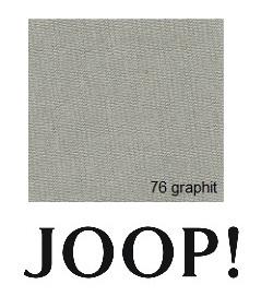 JOOP! Spannbetttuch Feinjersey 90/100x200/220 cm Graphit 76