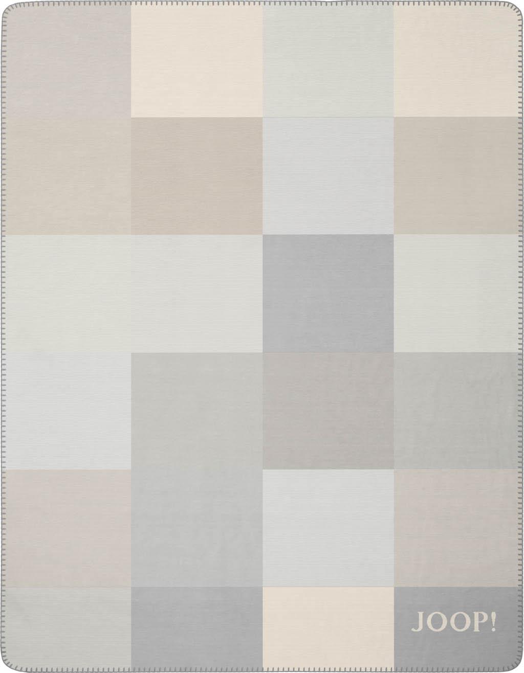 JOOP! Wohndecke Mosaic 751539 Sand-Rauch 150x200 cm neue Kollektion