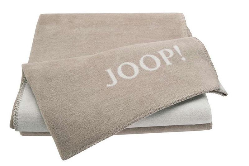 JOOP! Uni-Doubleface Wohndecke 150x200 cm Decke Sand-Pergament 564320