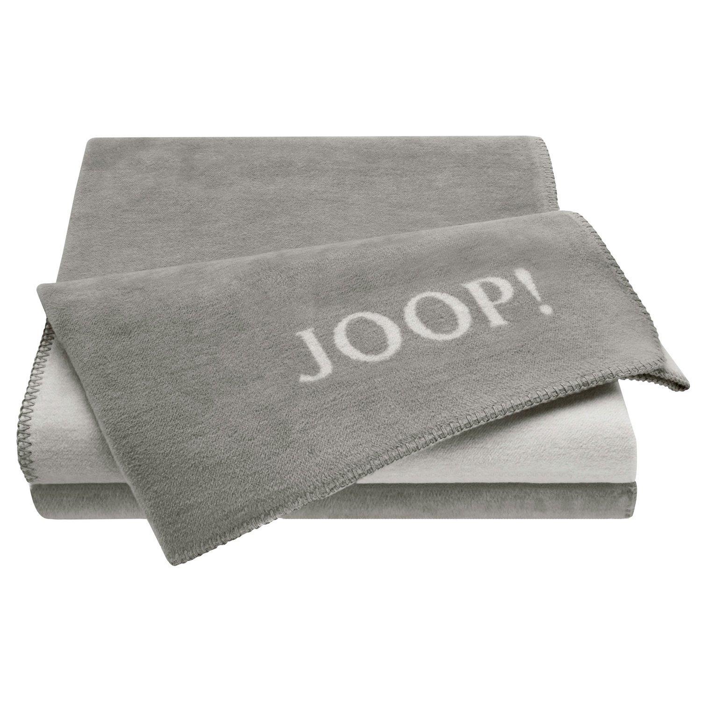 JOOP! Uni-Doubleface Wohndecke Decke Graphit-Rauch 564382