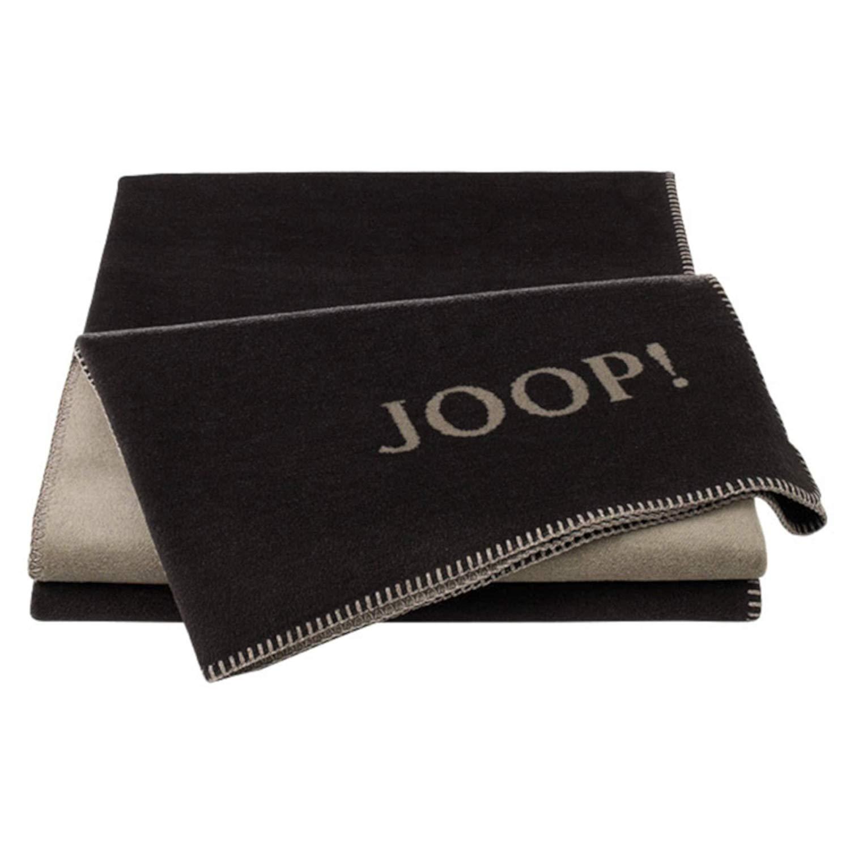 JOOP! Uni-Doubleface Wohndecke Decke Ebony-Taupe 693419